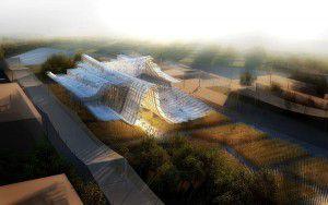 EXPO 2015 architettura, padiglione CINA