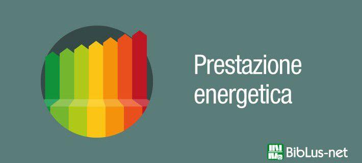 Immagine categoria prestazione energetica