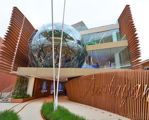 EXPO 2015 architettura, padiglione Azerbaijan