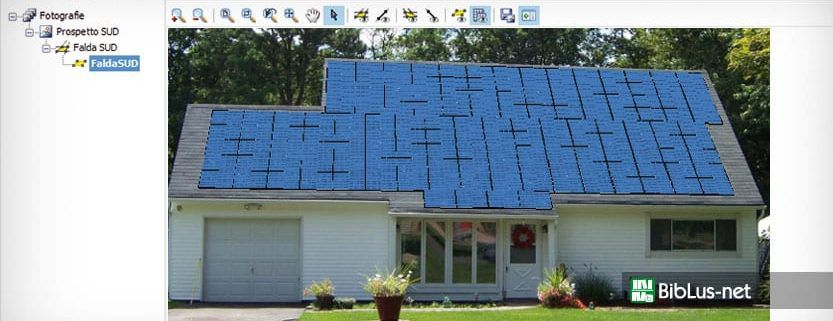 Schema Elettrico Impianto Fotovoltaico Trifase : Progetto impianto fotovoltaico biblus net