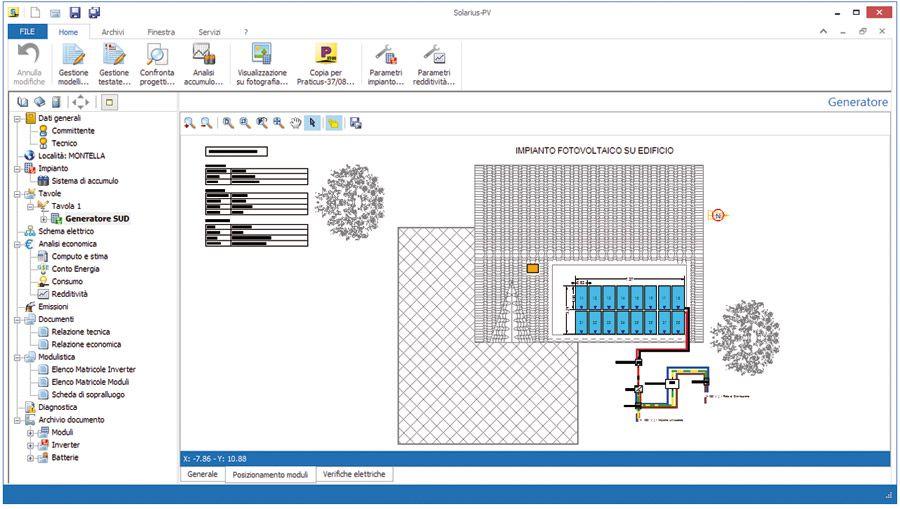 Software per la progettazione di impianti fotovoltaici 91