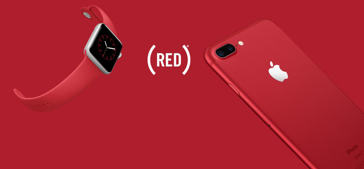 Cinturino Apple watch e iPhone red