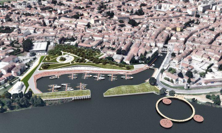 Mantova: collegamento tra aree contigue, importanti per valore storico e naturalistico