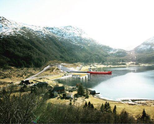 Tunnel per navi Norvegia