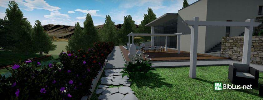 Progettazione giardini e paesaggio biblus net for Progettazione giardini software