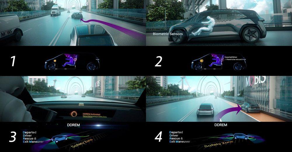 Departed Drive Rescue & Exit Maneuver (Hyundai)