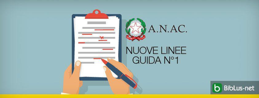 Servizi di progettazione, pubblicate le nuove Linee guida..