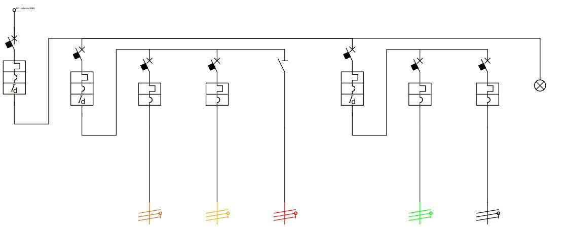 Schema Elettrico Funzionale : Guida impianto elettrico parte progettazione componenti
