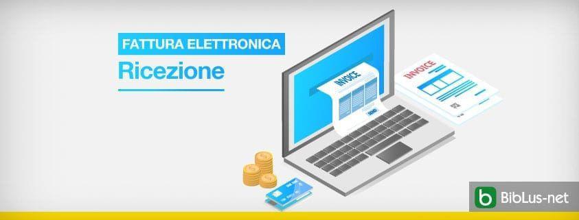 ricezione della fattura elettronica