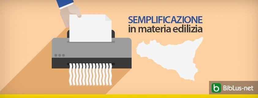 Sicilia: approvata la norma per le semplificazioni in