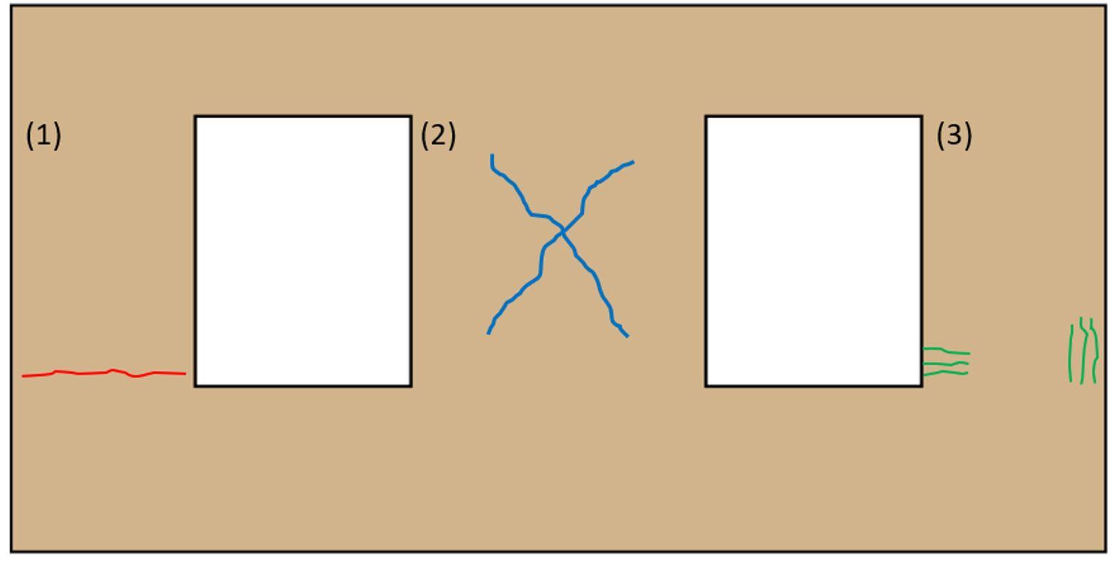 Meccanismi di collasso a taglio nel piano dei pannelli murari