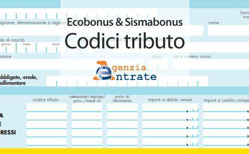 Ecobonus-&-Sismabonus-codici-tributo