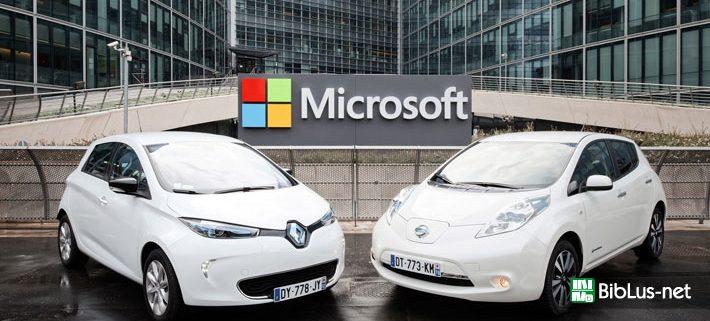 Auto-Microsoft-Renault