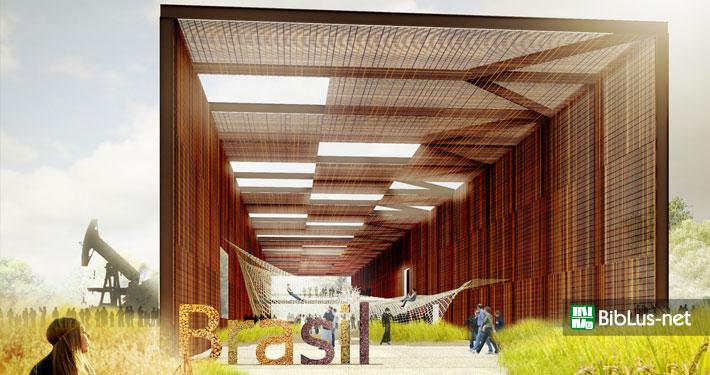 Expo 2015 architettura: il padiglione del Brasile