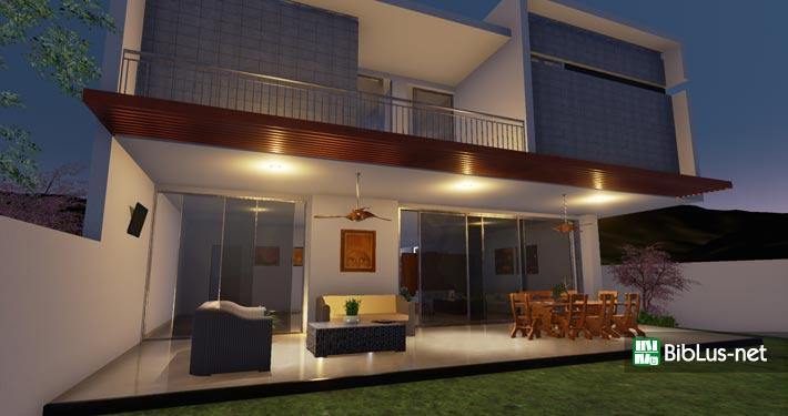 Edificius il progetto di casa hg con video e rendering for Piani di progettazione della casa 3d 4 camere da letto