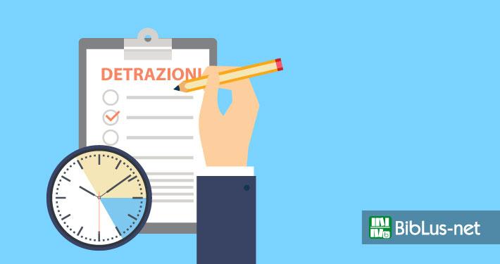 Detrazioni fiscali entro quanto tempo possono avvenire i for Detrazioni fiscali 2017 agenzia delle entrate