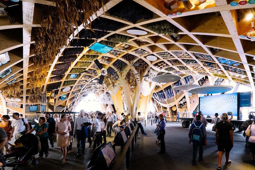 Expo 2015 architettura il padiglione della francia - Simboli di immagini della francia ...