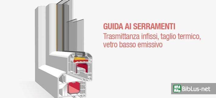 Trasmittanza infissi, taglio termico e vetro basso emissivo: la ...