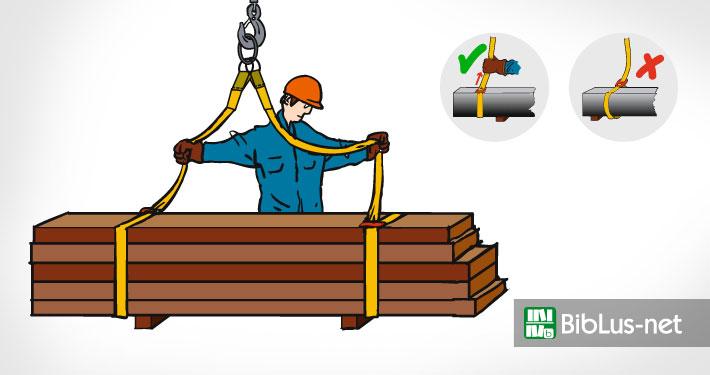 Imbracatura carichi, l'opuscolo SUVA per lavorare sicuri