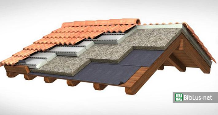 Isolamento termico delle coperture tipologie vantaggi e for Tettoia inclinata del tetto