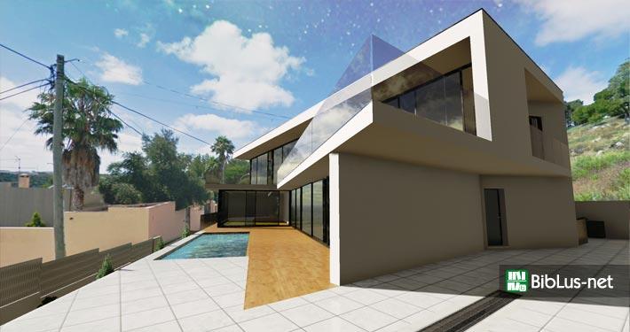 Casa jc il progetto della bellissima residenza moderna a for Progetto casa moderna nuova costruzione