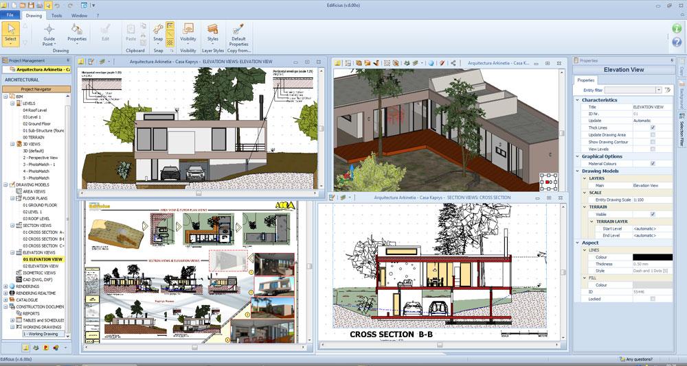 Edificius il software per fare della tua progettazione una grande progettazione ecco il - Software progettazione casa gratis ...