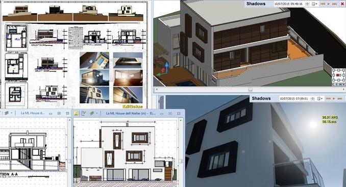 Edificius il progetto di ml house in portogallo for Arredi sketchup