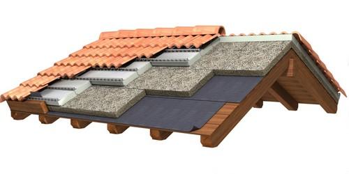 Isolamento termico delle coperture tipologie vantaggi e - Tetto a falde inclinate ...