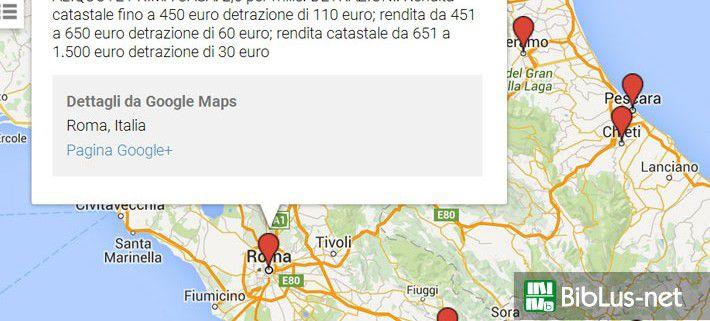 Aliquote Tasi e IMU, la mappa dei Comuni