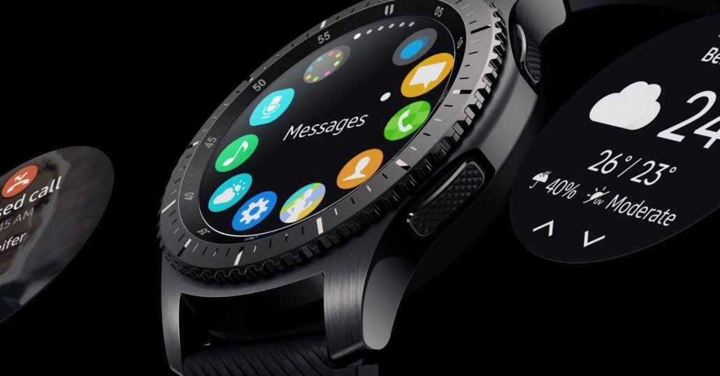 Samsung Gear S3 - ghiera
