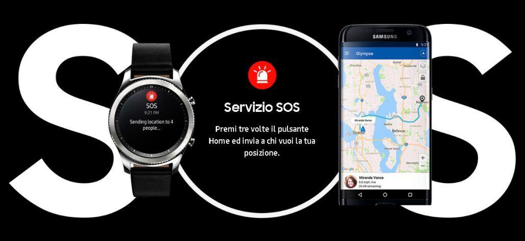 Samsung Gear S3 - SOS