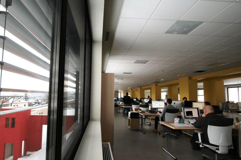 Nuova sede ACCA: open space