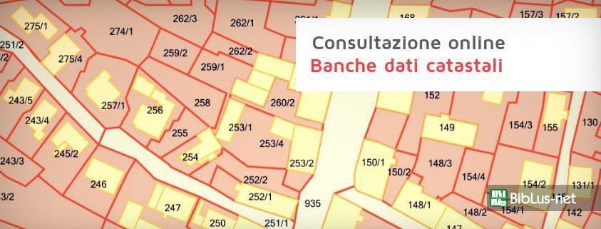 Banche dati catastali