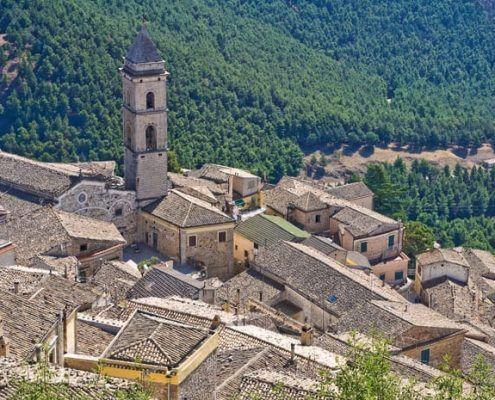 Sant'Agata, panorama
