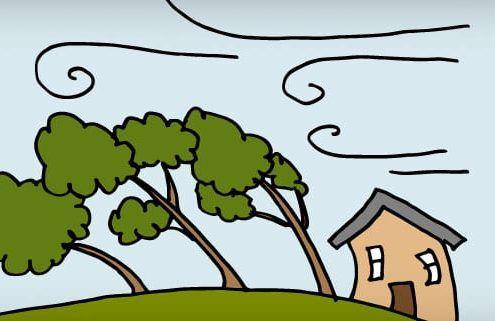 azione del vento costruzioni