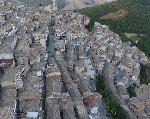 Sant'agata, vista dall'alto