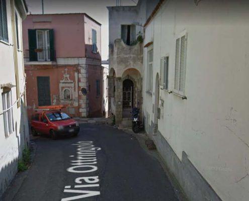Edificio in Muratura - Via Ottringolo, Piazza Maio – Casamicciola Terme Ribaltamento di facciata : Google street view pre-evento