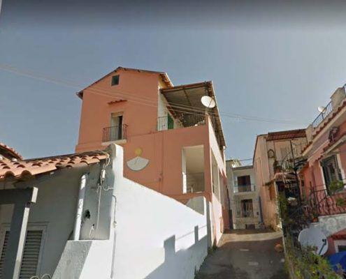 Edifici in Muratura - Via Montecito, Piazza Maio – Casamicciola Terme Muratura Beneventana : Google street view pre-evento