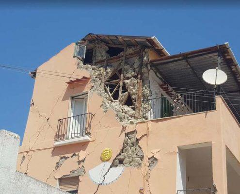 Edifici in Muratura - Via Montecito, Piazza Maio – Casamicciola Terme Muratura Beneventana : post-evento