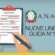 Nuove linee guida N°1