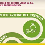 certificazione dei crediti
