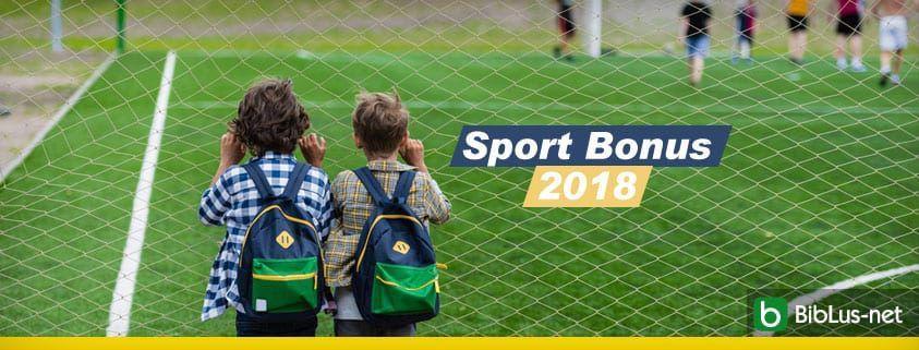 Sport Bonus 2018
