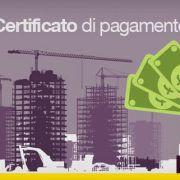 Certificato di pagamento