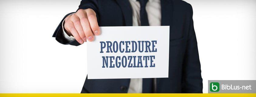 Procedure negoziate