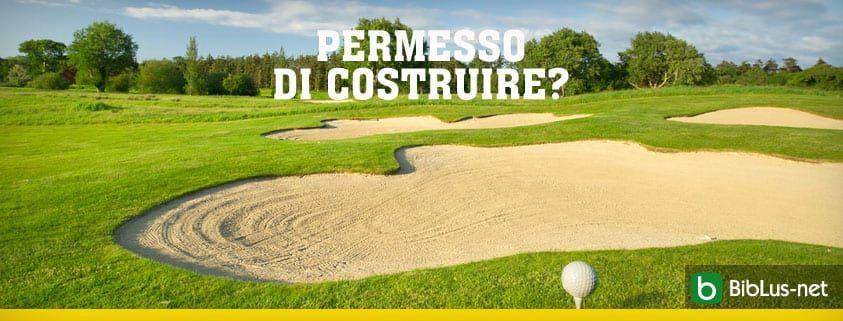 permesso di costruire_golf