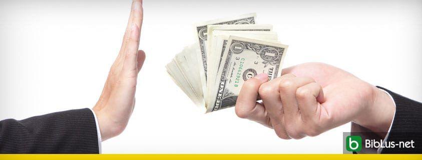 stop contanti