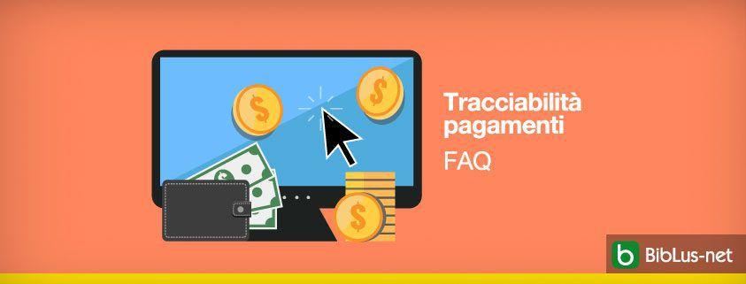 Tracciabilita-1 pagamenti FAQ
