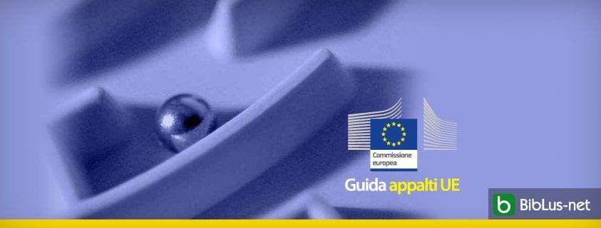 Guida appalti UE