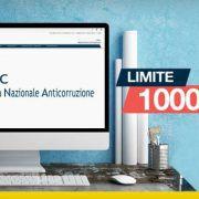 ANAC gare elettroniche limite 1000 euro