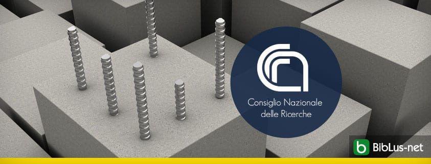 CNR calcestruzzo fibro rinforzato